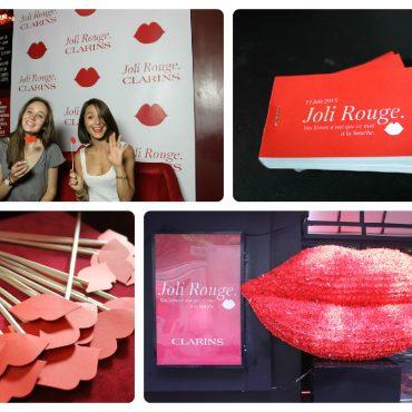 Lancement du produit Jolie Rouge