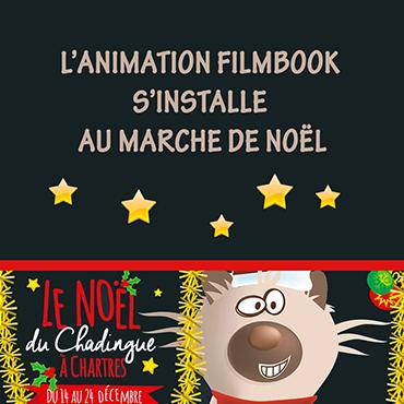 Le FilmBook au Marché de Noël de Chartres !